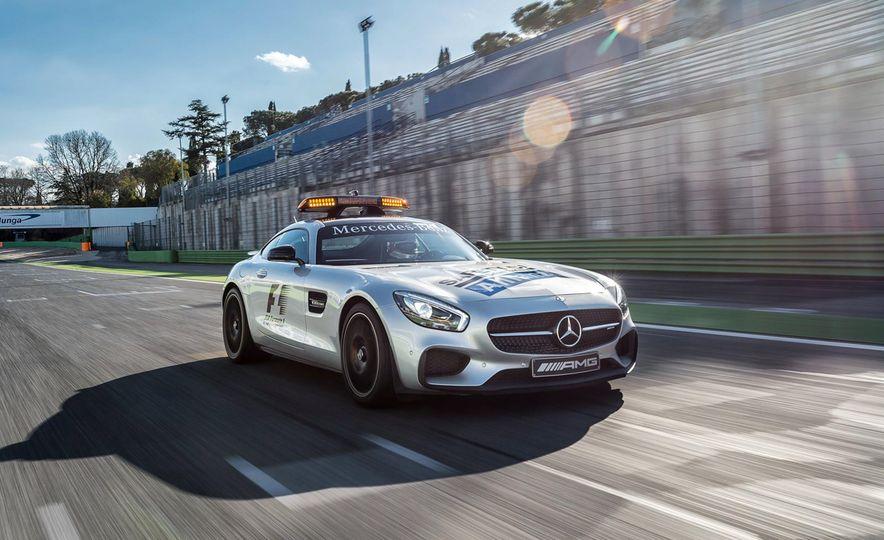 Mercedes-AMG GT S F1 safety car - Slide 3