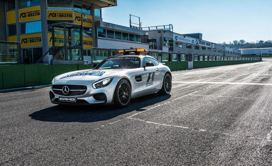 Mercedes-AMG GT S F1 safety car - Slide 5