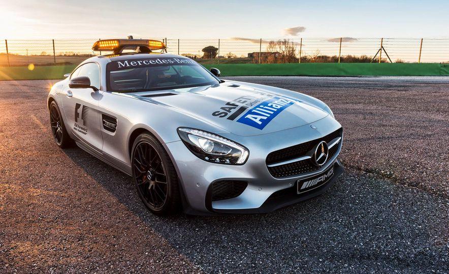 Mercedes-AMG GT S F1 safety car - Slide 6