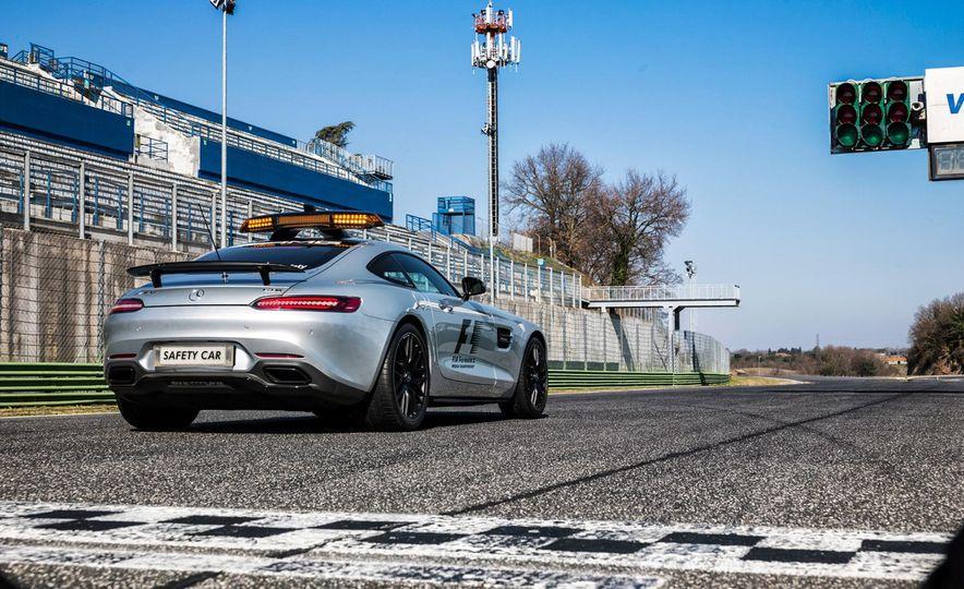 Mercedes-AMG GT S F1 safety car - Slide 7