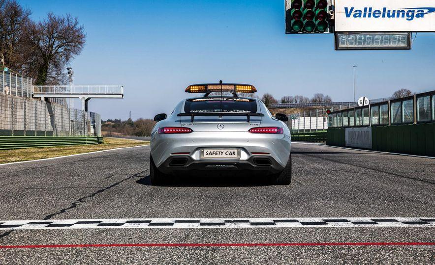 Mercedes-AMG GT S F1 safety car - Slide 8
