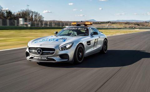 Mercedes Amg Gt S F1 Safety Car