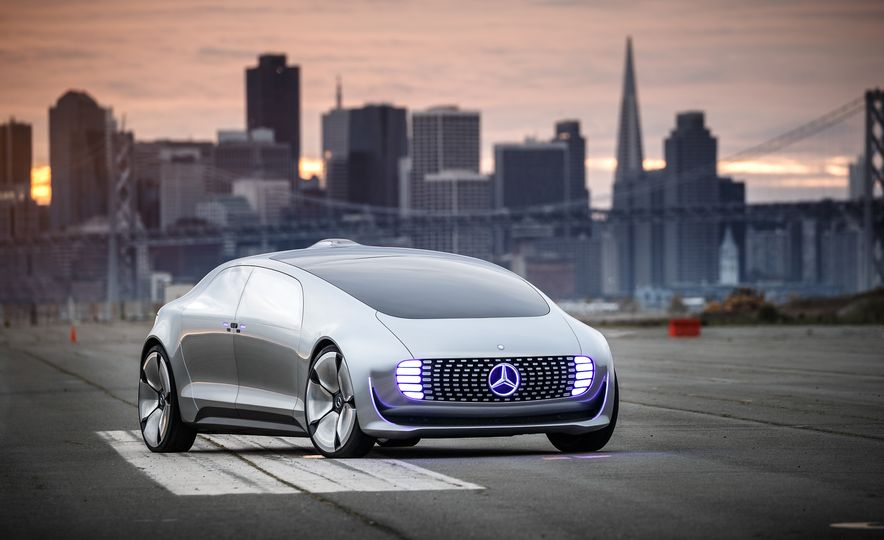 Mercedes-Benz F 015 Luxury in Motion prototype - Slide 16