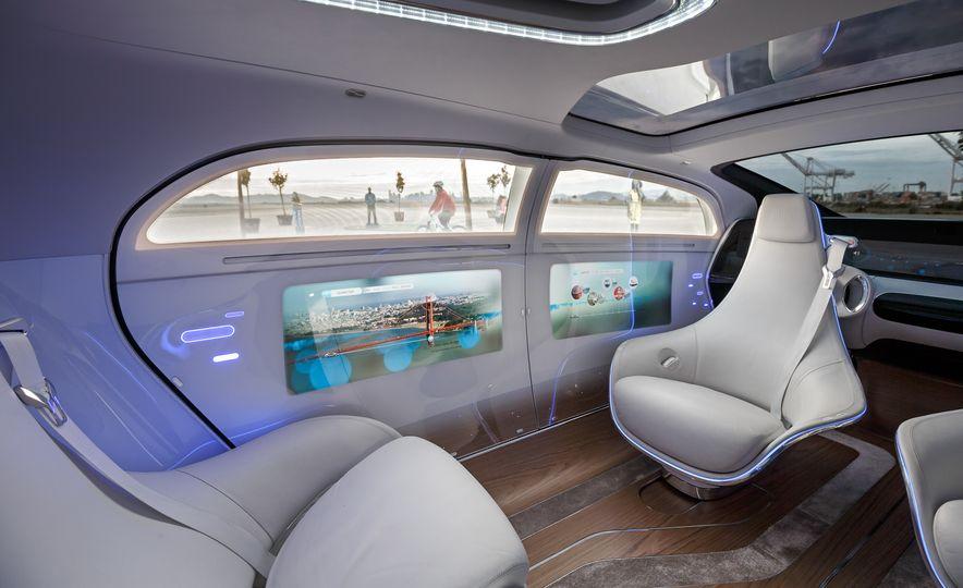 Mercedes-Benz F 015 Luxury in Motion prototype - Slide 31