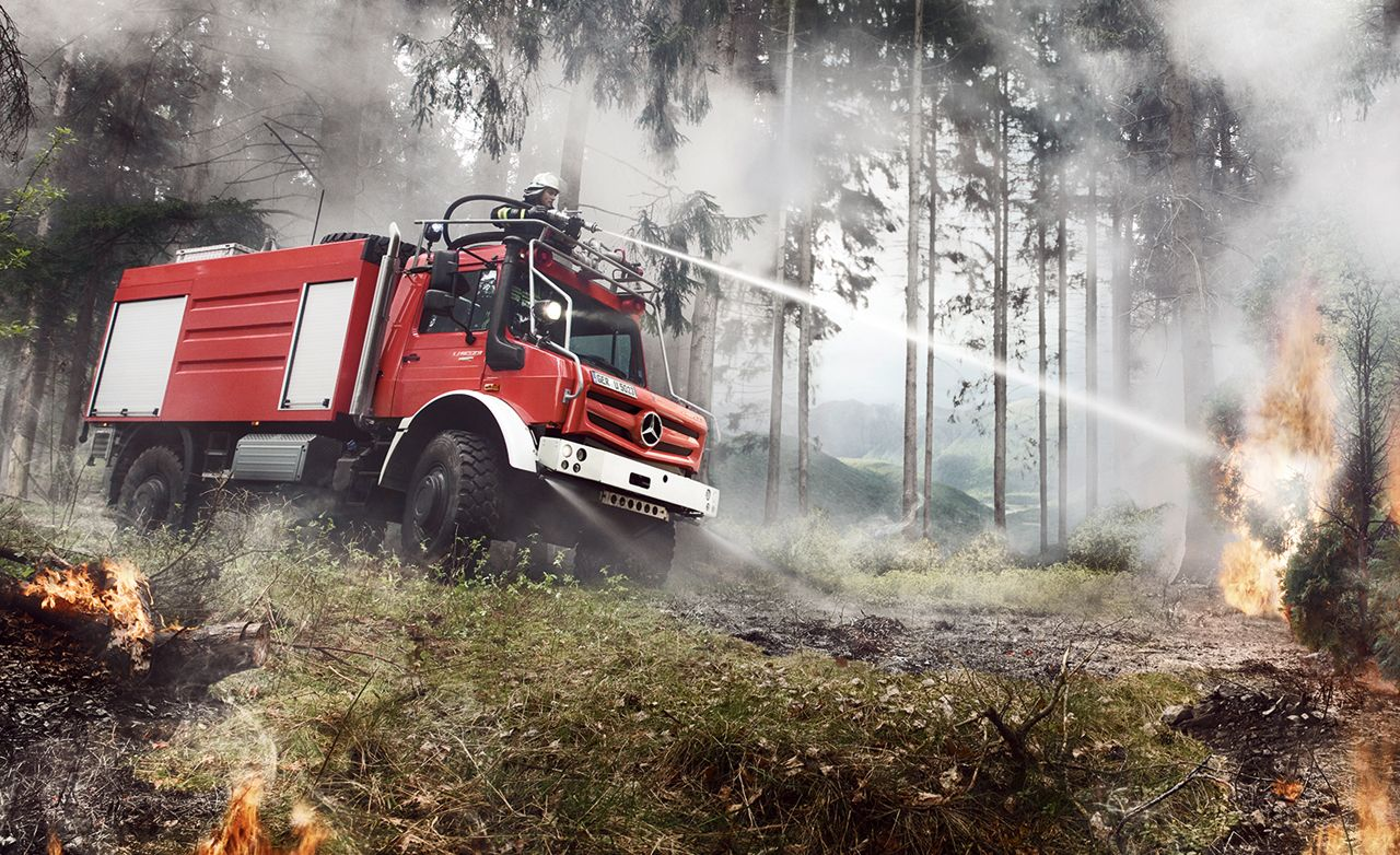 Proof that the Mercedes-Benz Unimog Is the World's Most Versatile and Bad-Ass Truck