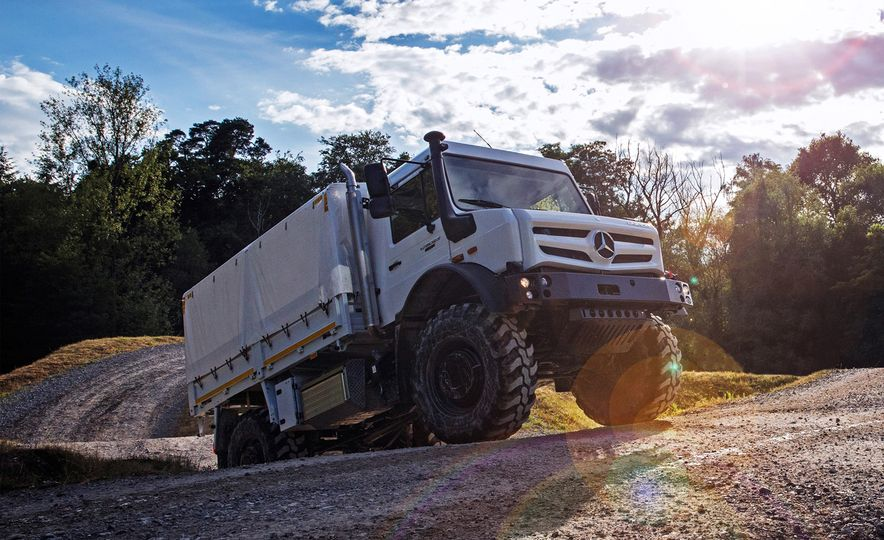 Mercedes-Benz Unimog: The Pickup/Other Thing Benz Has Been Building for Decades - Slide 5