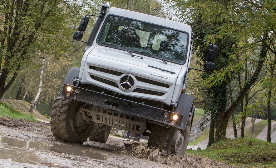 Mercedes-Benz Unimog: The Pickup/Other Thing Benz Has Been Building for Decades - Slide 4