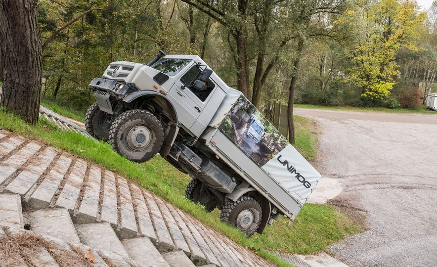 Mercedes-Benz Unimog: The Pickup/Other Thing Benz Has Been Building for Decades - Slide 7