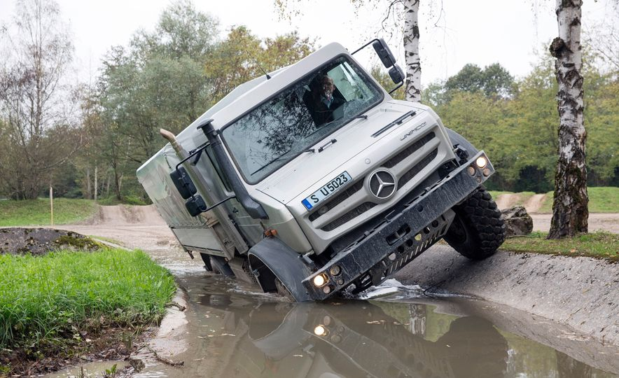 Mercedes-Benz Unimog: The Pickup/Other Thing Benz Has Been Building for Decades - Slide 3