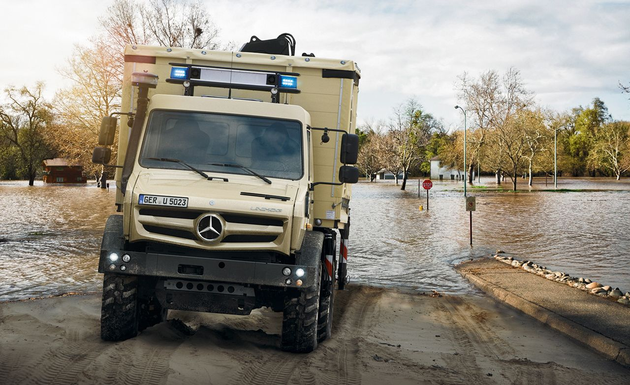 Proof That The Mercedes Benz Unimog Is The World S Most Versatile