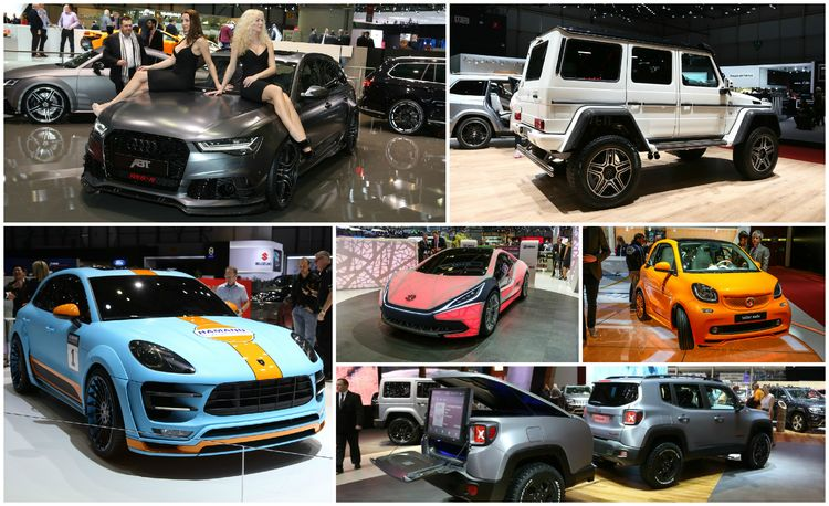 A Touch of Class (or Not): The Geneva Show's Weird and Outrageous Side