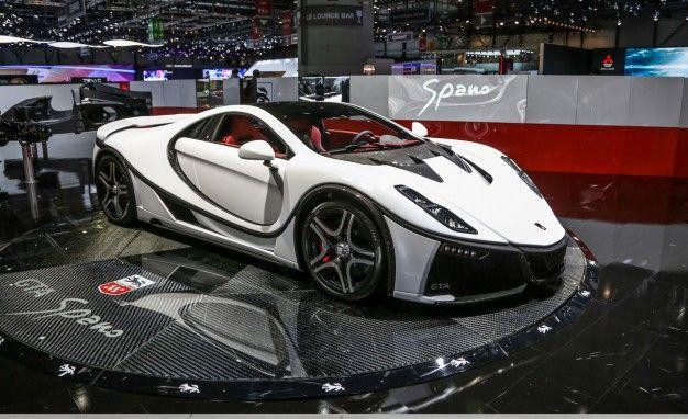 View  Photos The Spanish Supercar Spanias Gta Spano Debuts At Geneva