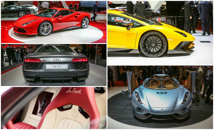 The Superest Supercars from the 2015 Geneva Auto Show