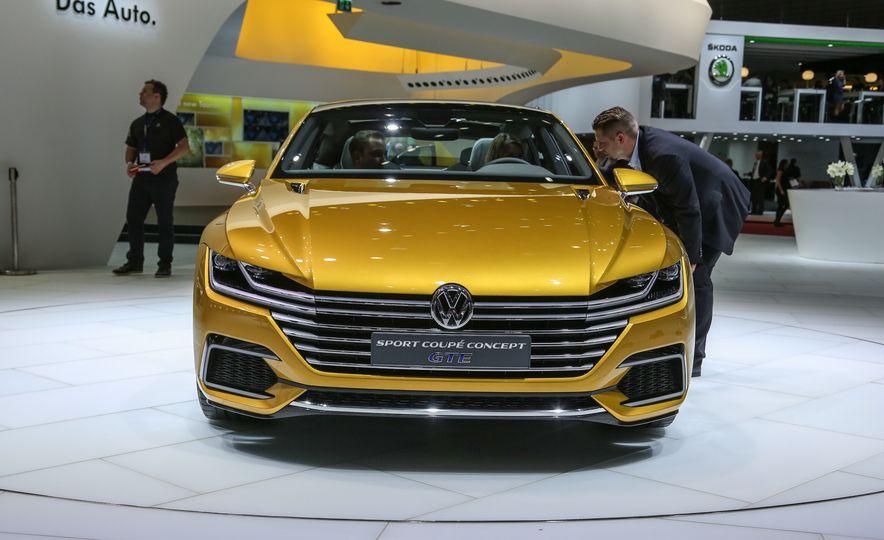 Volkswagen Sport Coupe GTE concept - Slide 1