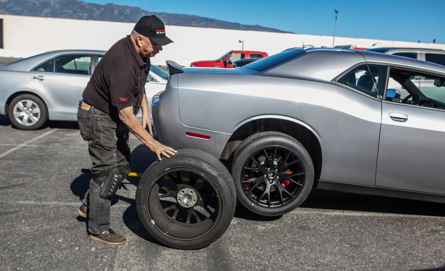 What's the Hellcat's True Potential? We Head to the Drag Strip with Various Tires to Find Out - Slide 15