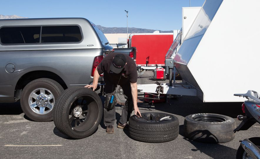 What's the Hellcat's True Potential? We Head to the Drag Strip with Various Tires to Find Out - Slide 16
