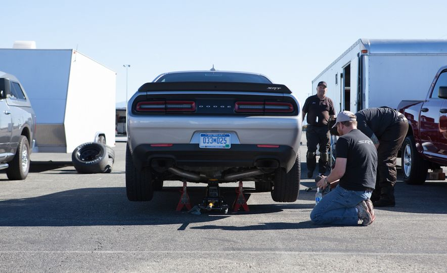What's the Hellcat's True Potential? We Head to the Drag Strip with Various Tires to Find Out - Slide 24
