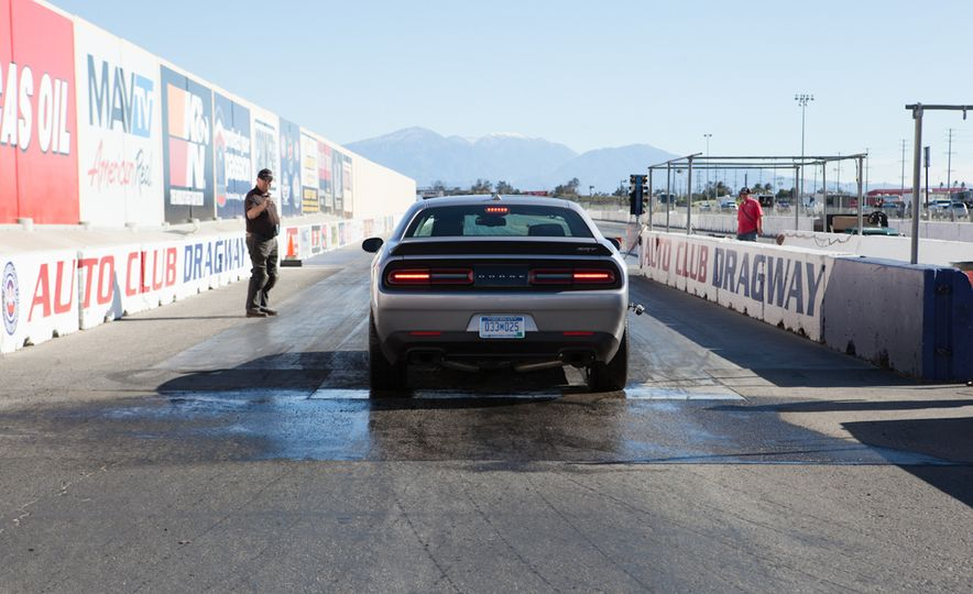 What's the Hellcat's True Potential? We Head to the Drag Strip with Various Tires to Find Out - Slide 27