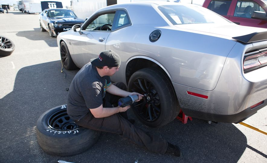 What's the Hellcat's True Potential? We Head to the Drag Strip with Various Tires to Find Out - Slide 37