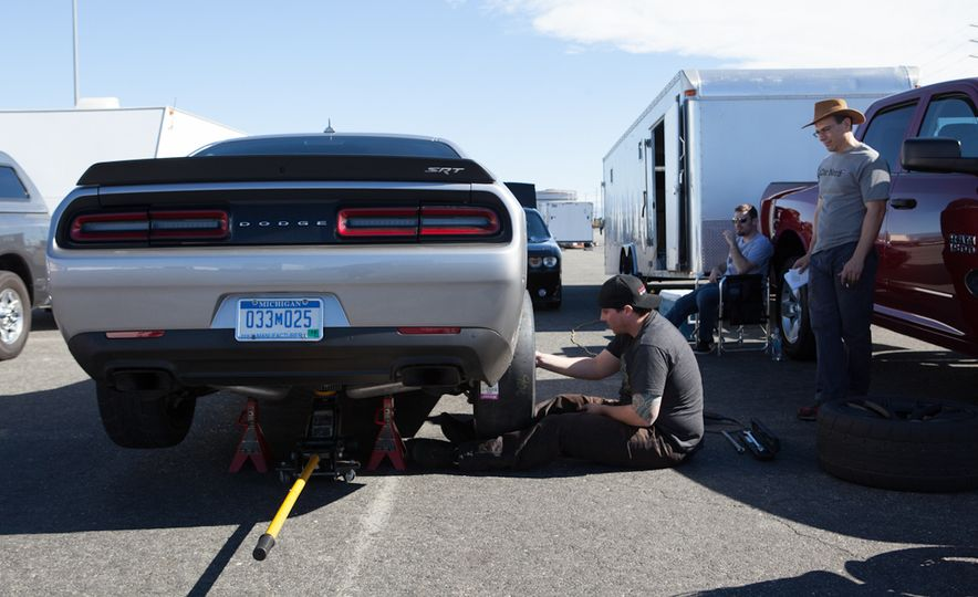 What's the Hellcat's True Potential? We Head to the Drag Strip with Various Tires to Find Out - Slide 50
