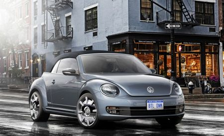Ditch the Jeans: VW's Beetle Convertible Denim Updates an Old Tradition