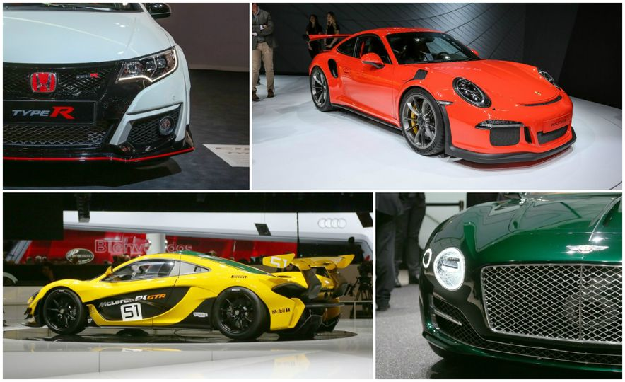 Our Picks for the Very Best from the 2015 Geneva Auto Show - Slide 1