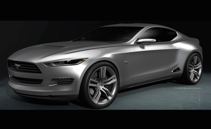 Stud Service: The Drawings and Designs that Gave Birth to the Latest Ford Mustang - Slide 6