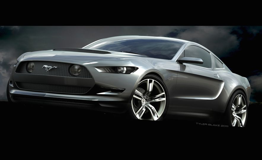 Stud Service: The Drawings and Designs that Gave Birth to the Latest Ford Mustang - Slide 7