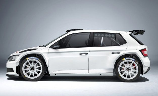 Czech It Out: Škoda's New Rally Car Looks Supremely Bad-Ass