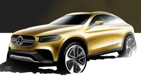 """Mercedes-Benz GLK Replacement Will Come in """"Coupe"""" Form, Too"""