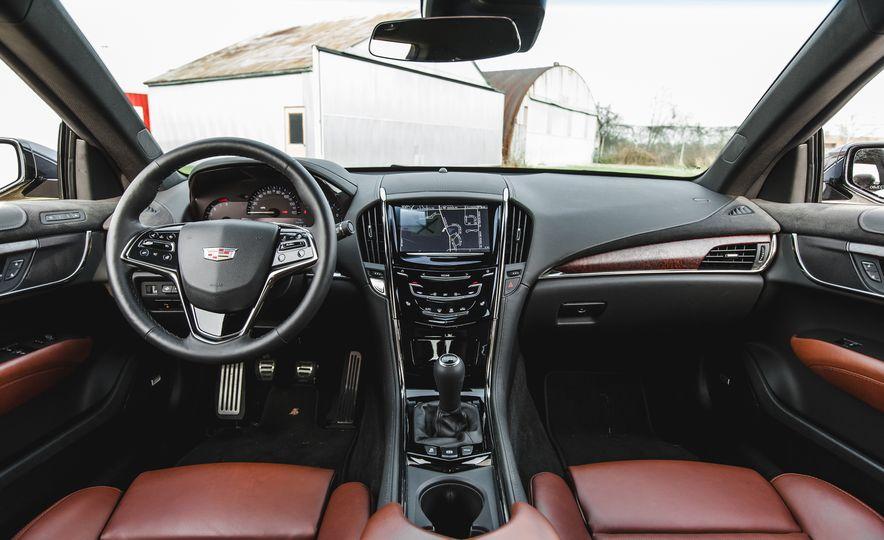 2016 Cadillac ATS-V sedan - Slide 35
