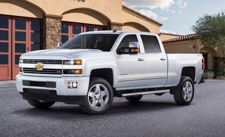 Monochromeo, Part 3! Chevrolet Silverado HD Custom Sport Joins the Black/White Party