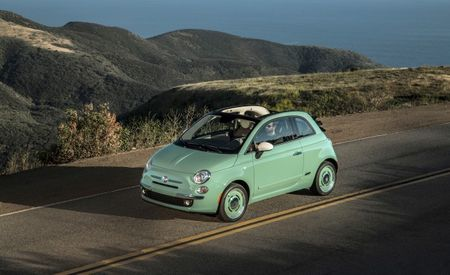 "Topless '57: Fiat Expands Retro ""1957 Edition"" Treatment to 500C Convertible"