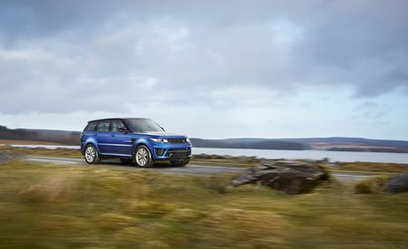 2015 Land Rover Range Rover Sport SVR – First Drive Review