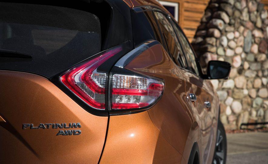 2015 Nissan Murano Platinum AWD - Slide 78