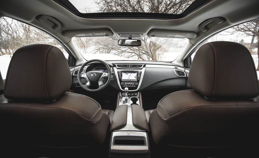 2015 Nissan Murano Platinum AWD - Slide 122