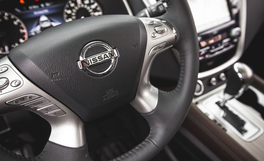2015 Nissan Murano Platinum AWD - Slide 128
