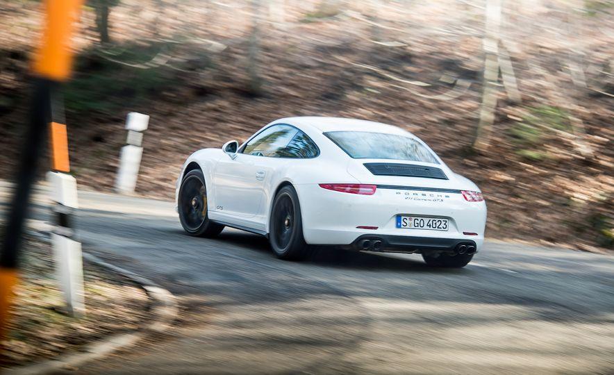 2016 Jaguar F-type R coupe, 2015 Porsche 911 Carrera GTS, and 2016 Mercedes-AMG GT S - Slide 45