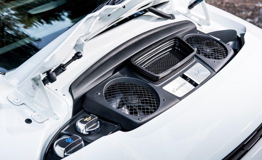 2016 Jaguar F-type R coupe, 2015 Porsche 911 Carrera GTS, and 2016 Mercedes-AMG GT S - Slide 48