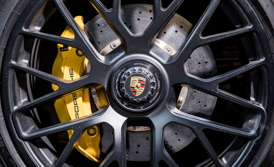 2016 Jaguar F-type R coupe, 2015 Porsche 911 Carrera GTS, and 2016 Mercedes-AMG GT S - Slide 50