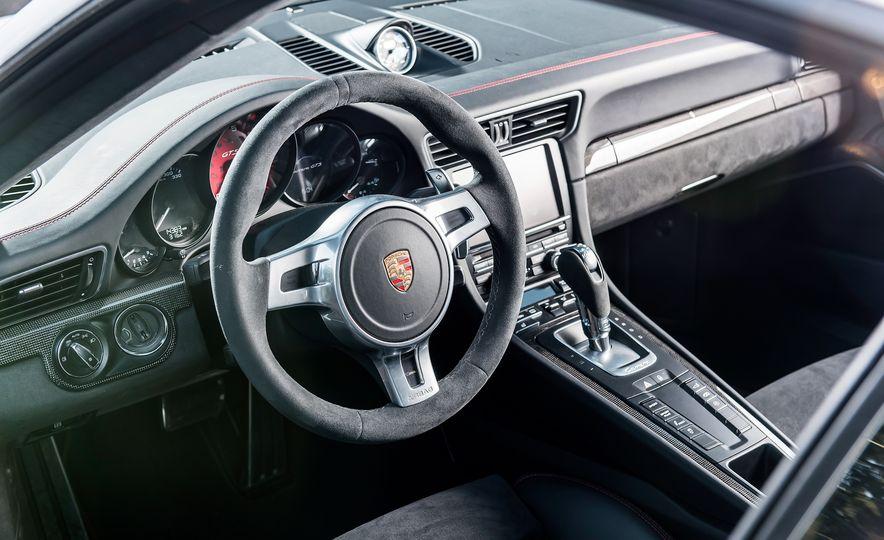 2016 Jaguar F-type R coupe, 2015 Porsche 911 Carrera GTS, and 2016 Mercedes-AMG GT S - Slide 51