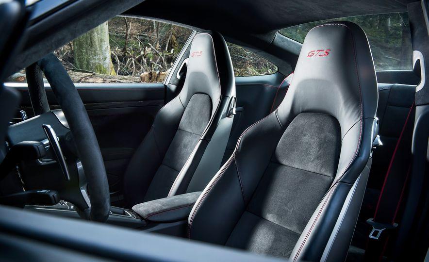 2016 Jaguar F-type R coupe, 2015 Porsche 911 Carrera GTS, and 2016 Mercedes-AMG GT S - Slide 52