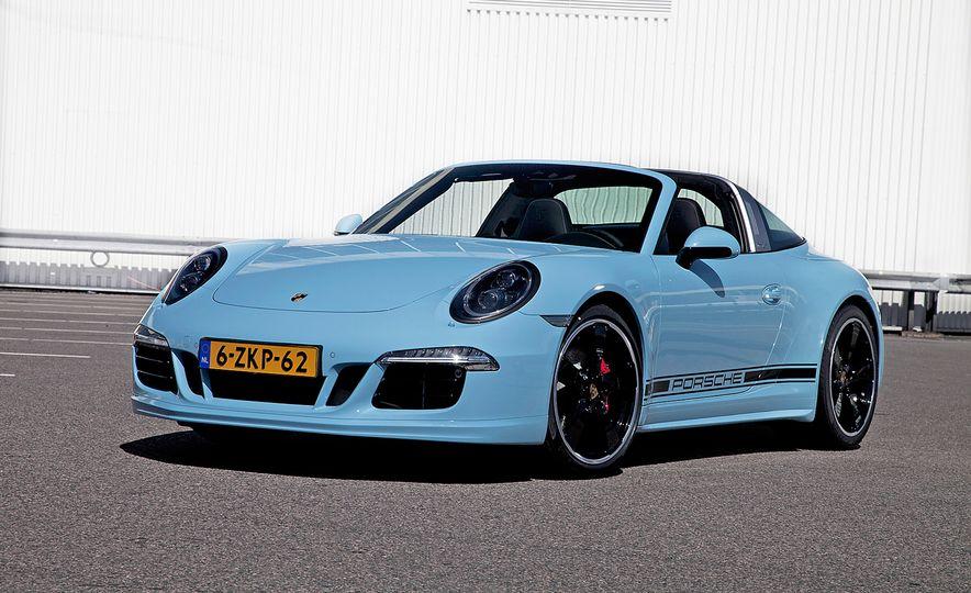2015 Porsche 911 Targa 4S Exclusive Edition - Slide 1