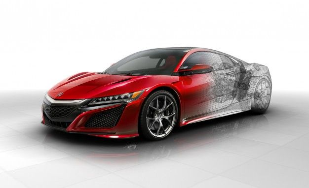 Acura NSX Reviews Acura NSX Price Photos And Specs Car And Driver - Acura sports car nsx price