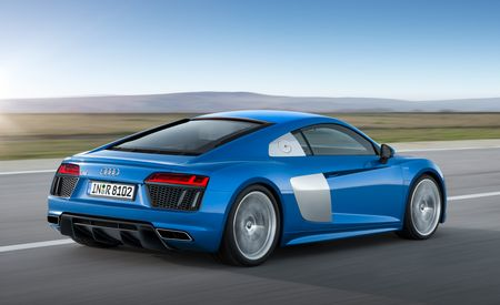By the Numbers: New Audi R8 vs. Ferrari 488GTB, Lamborghini Huracán, McLaren 650S