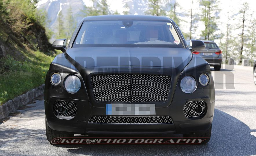 2017 Bentley Bentayga SUV (artist's rendering) - Slide 2