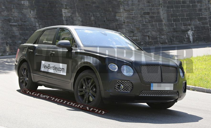 2017 Bentley Bentayga SUV (artist's rendering) - Slide 3