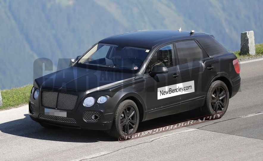 2017 Bentley Bentayga SUV (artist's rendering) - Slide 4