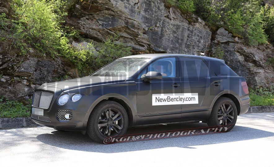 2017 Bentley Bentayga SUV (artist's rendering) - Slide 5