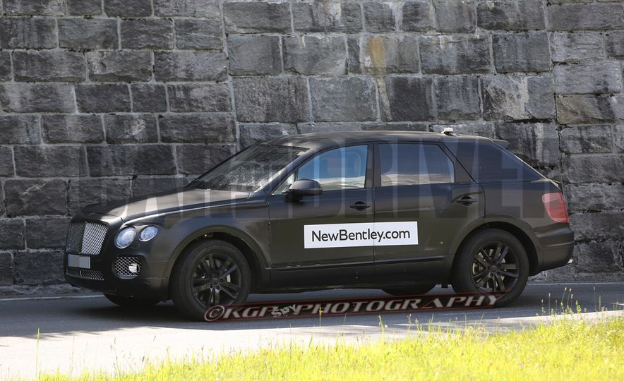 2017 Bentley Bentayga SUV (artist's rendering) - Slide 7